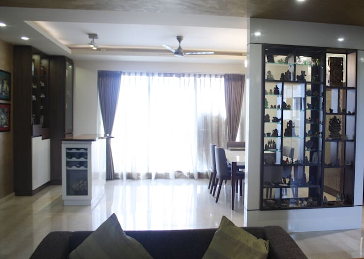 Park View Spa: modern Living room by stonehenge designs