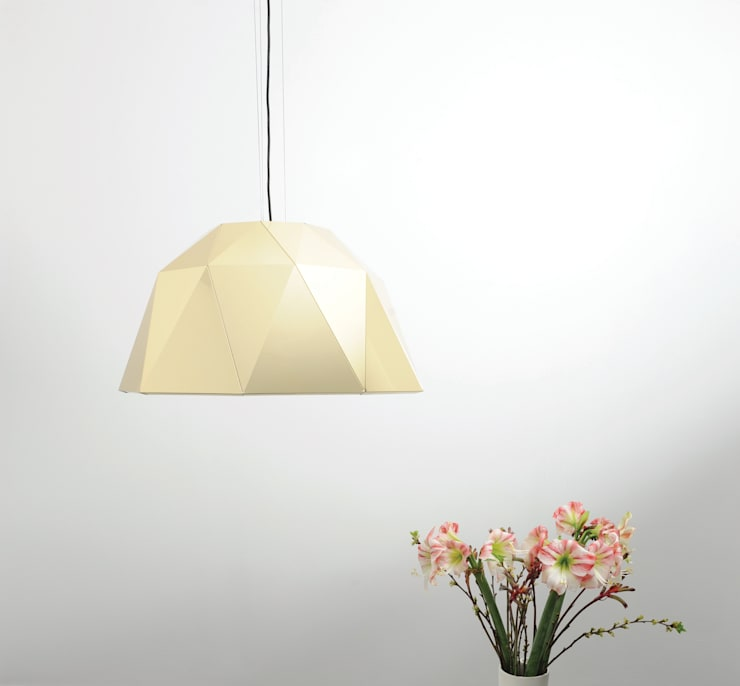 Carat gold: modern  door Studio Sander Mulder, Modern Aluminium / Zink