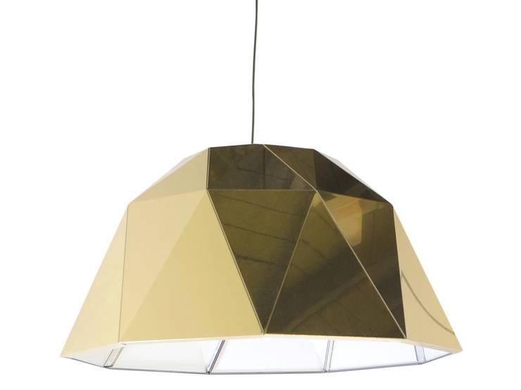 Carat gold:  Studeerkamer/kantoor door Studio Sander Mulder, Modern Aluminium / Zink