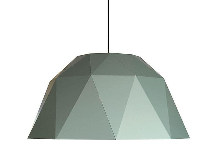 Carat jade:  Studeerkamer/kantoor door Studio Sander Mulder, Modern Aluminium / Zink