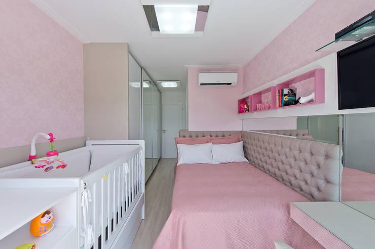 Детские комнаты в . Автор – Kris Bristot Arquitetura