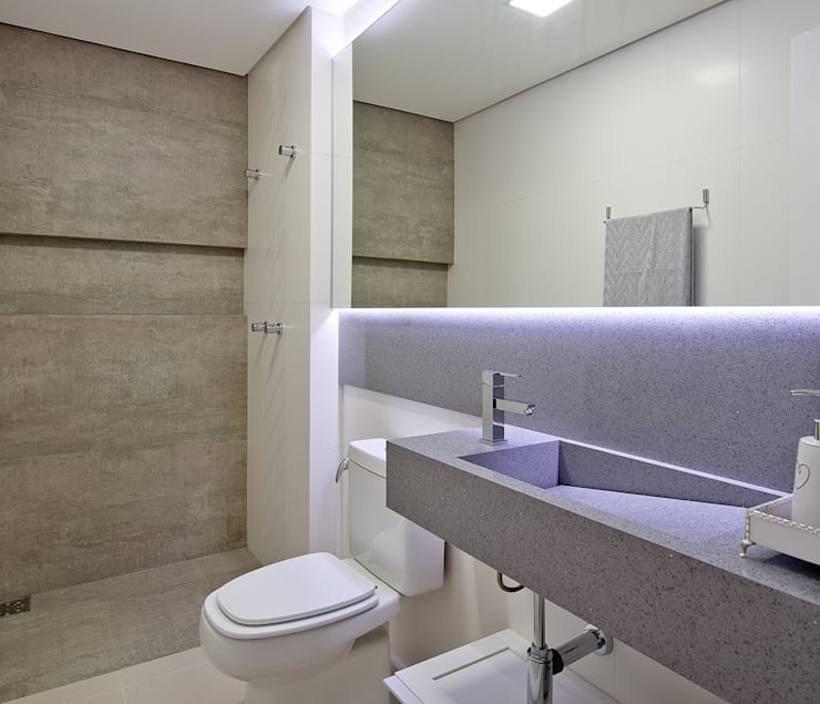 حمام تنفيذ Kris Bristot Arquitetura