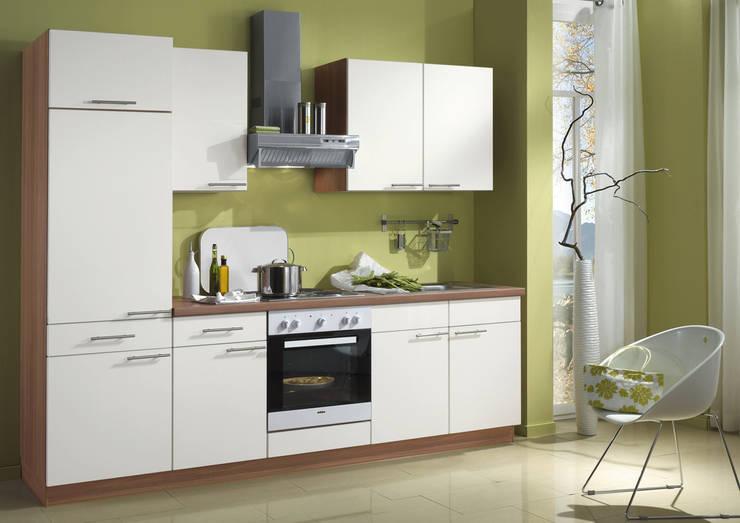 Hervorragend Küchengestaltung Mit Griffen, Glastüren, Korpusfarbton Und  Arbeitsplatten Dekor