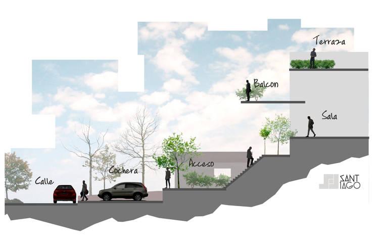 Casa Habitación Ec By Sant1ago Arquitectura Y Diseño Homify