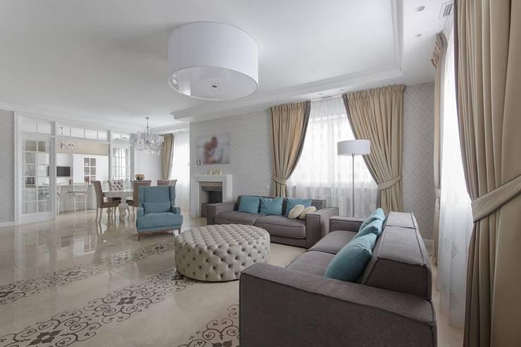 غرفة المعيشة تنفيذ Platon Makedonsky