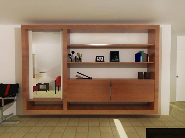 CASA NG: Livings de estilo  por Arquitecta Obadilla,