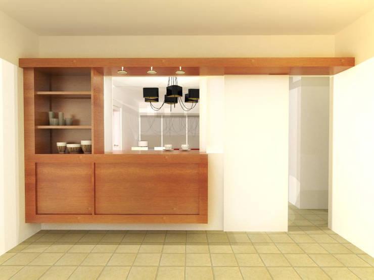 CASA NG: Cocinas de estilo  por Arquitecta Obadilla,