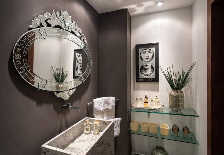 浴室 by Andréa Buratto Arquitetura & Decoração