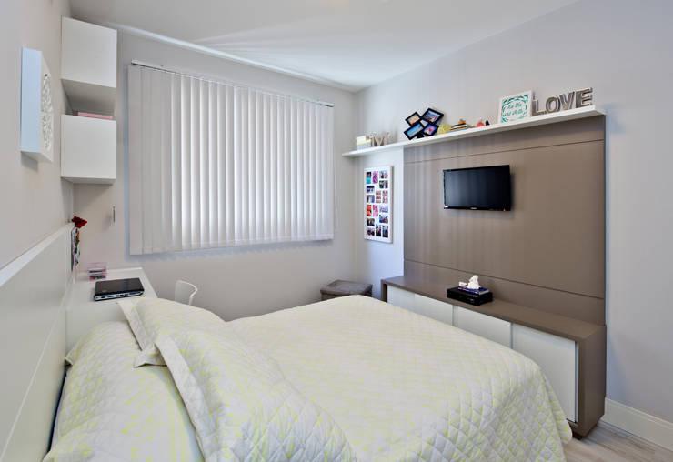 Slaapkamer door Kris Bristot Arquitetura