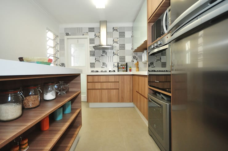 Cocinas de estilo  por Condecorar Arquitetura e Interiores