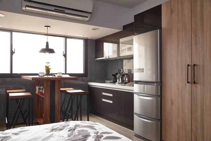 Projekty,  Kuchnia zaprojektowane przez 耀昀創意設計有限公司/Alfonso Ideas