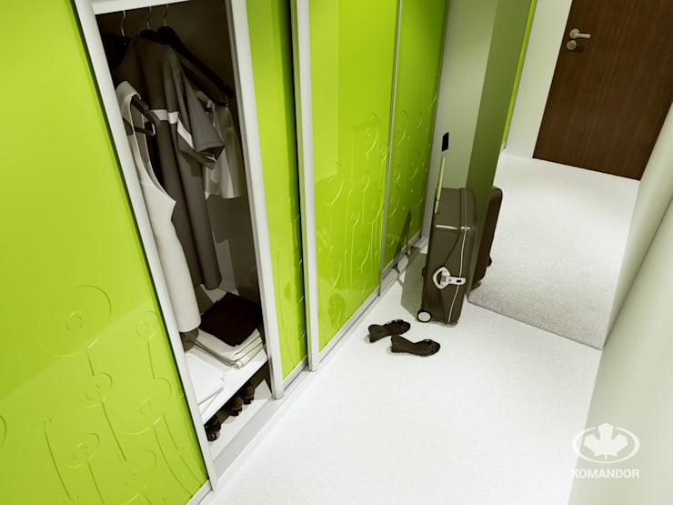 modern  by Komandor - Wnętrza z charakterem, Modern Wood-Plastic Composite