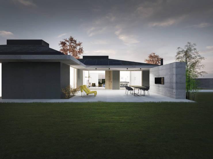 Minimalist house by Didonè Comacchio Architects Minimalist