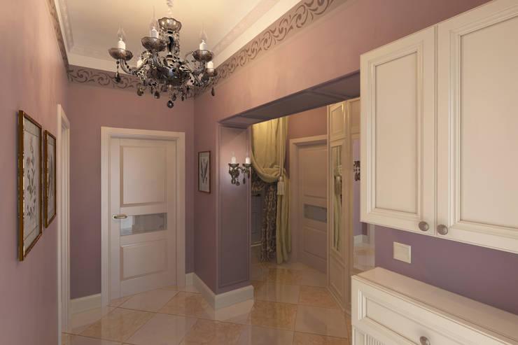Квартира в Измайлово: Коридор и прихожая в . Автор – Анна Путенис. Дизайнер и 3D- визуализатор (интерьеры),