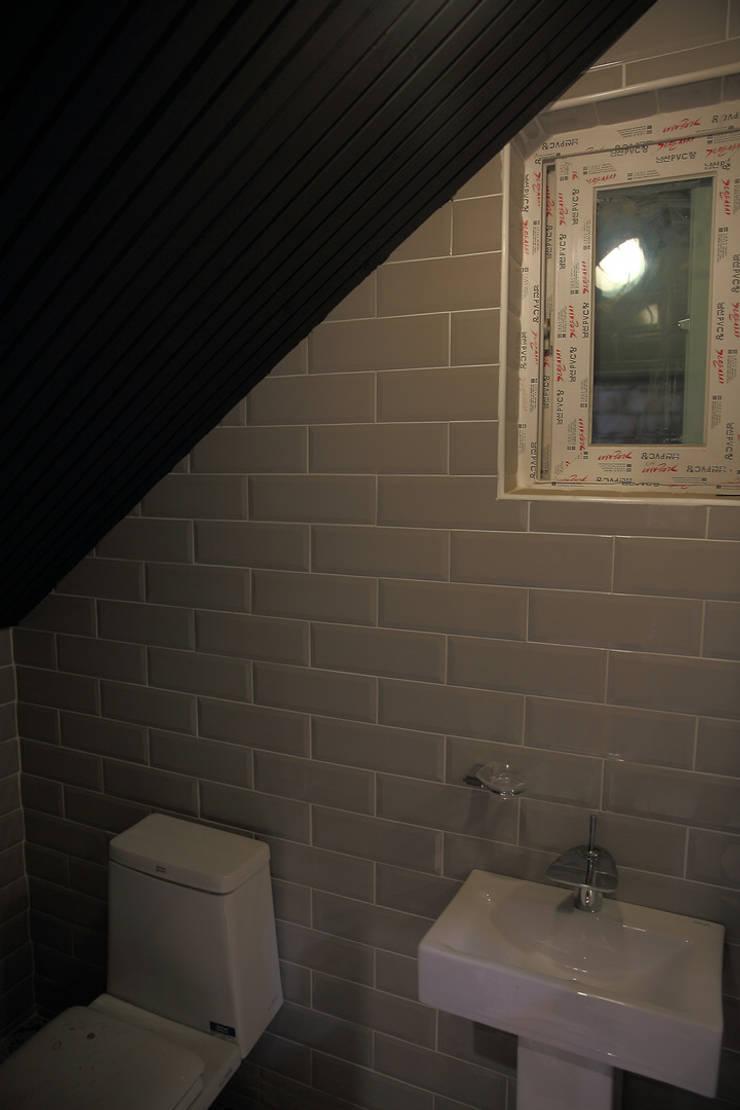 찜스토리 인테리어 부분: inark [인아크 건축 설계 디자인]의  욕실,