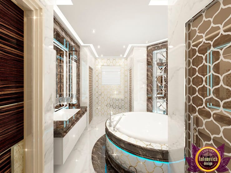 Bathroom by Luxury Antonovich Design,