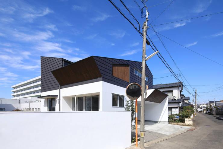 南側外観: ㈱ライフ建築設計事務所が手掛けた家です。