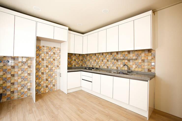홍제동 협소주택 – H2135: 마음담은 건축의  주방,