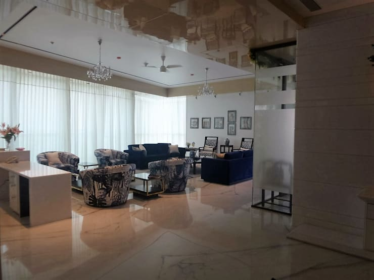 Living Room: eclectic Living room by bhatia.jyoti