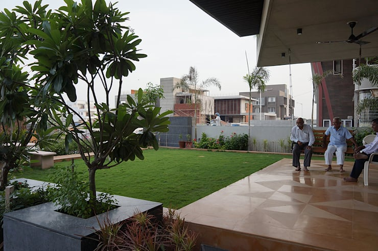 Residence of Brijesh Patel:  Houses by Architects at Work