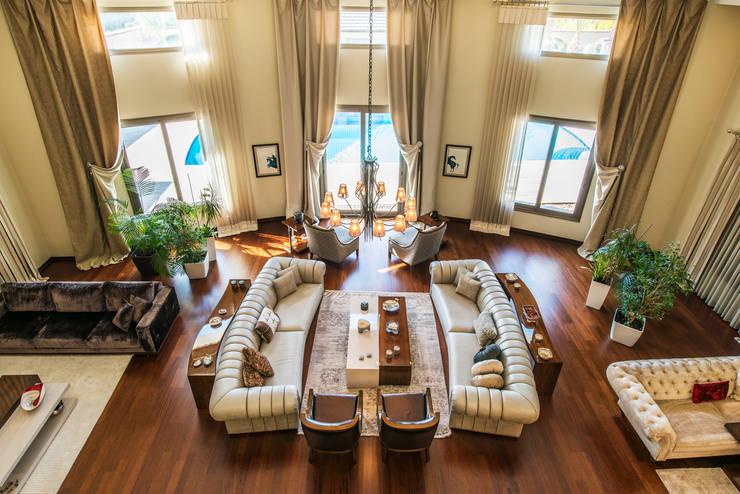 غرفة المعيشة تنفيذ Mimode Mimarlık/Architecture