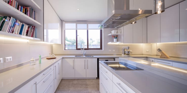 Cocinas de estilo  por Grupo E Arquitectura y construcción