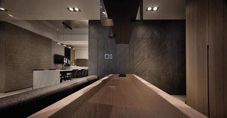 微度空間:  牆面 by 沈志忠聯合設計