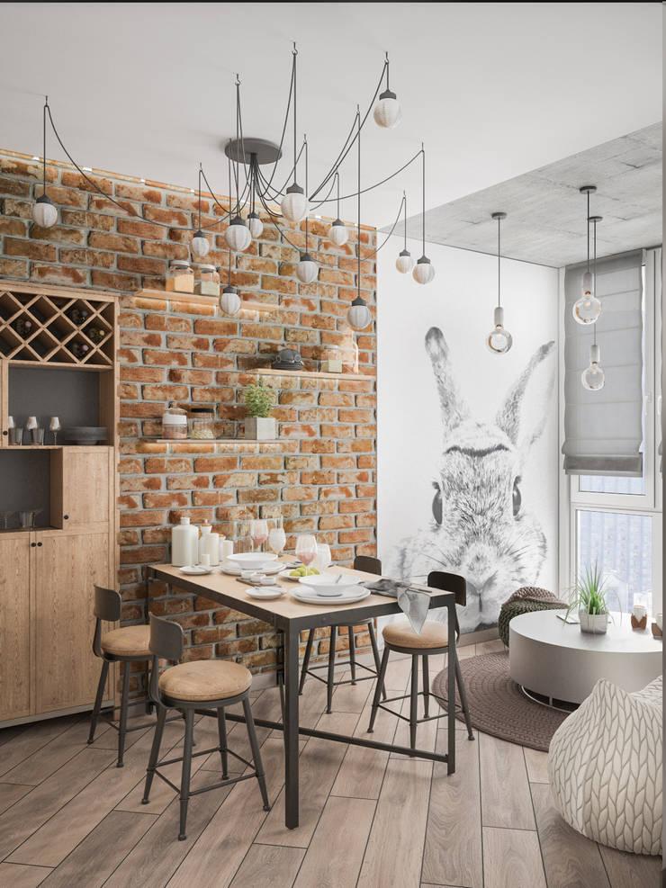 Cuisine de style  par Tatiana Zaitseva Design Studio,