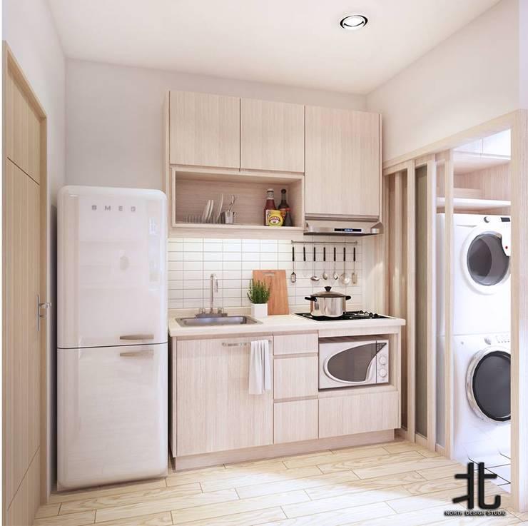 eclectic Kitchen by เหนือ ดีไซน์ สตูดิโอ (North Design Studio)