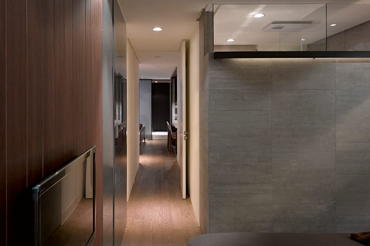 Gradient Space:  走廊 & 玄關 by 沈志忠聯合設計
