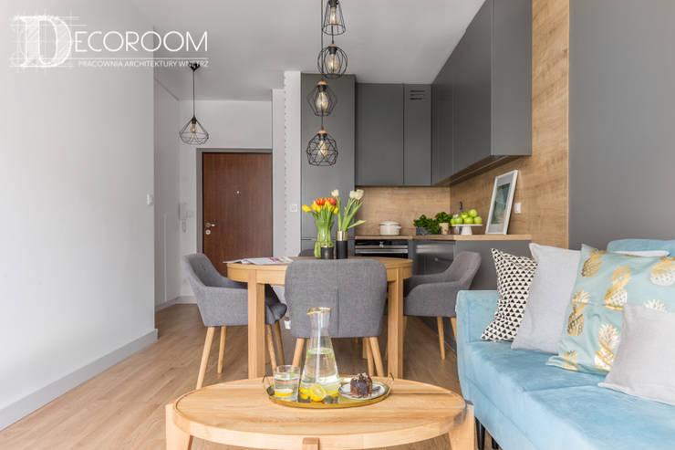 غرفة المعيشة تنفيذ Decoroom