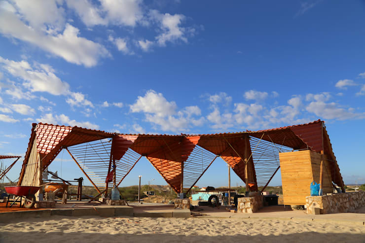 Mirador turístico Punta Arenas:  de estilo  por Taller Independiente