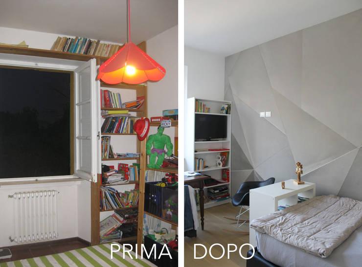 La Cameretta PRIMA / DOPO:  in stile  di redesign lab