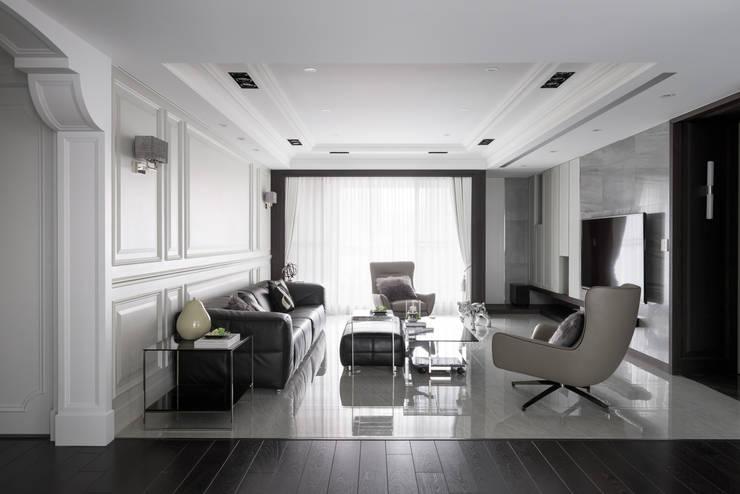 靜,器:  客廳 by 思為設計 SW Design