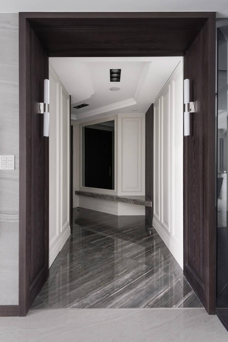 靜,器:  走廊 & 玄關 by 思為設計 SW Design