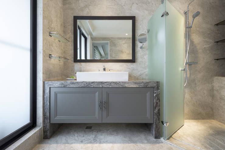 靜,器:  浴室 by 思為設計 SW Design