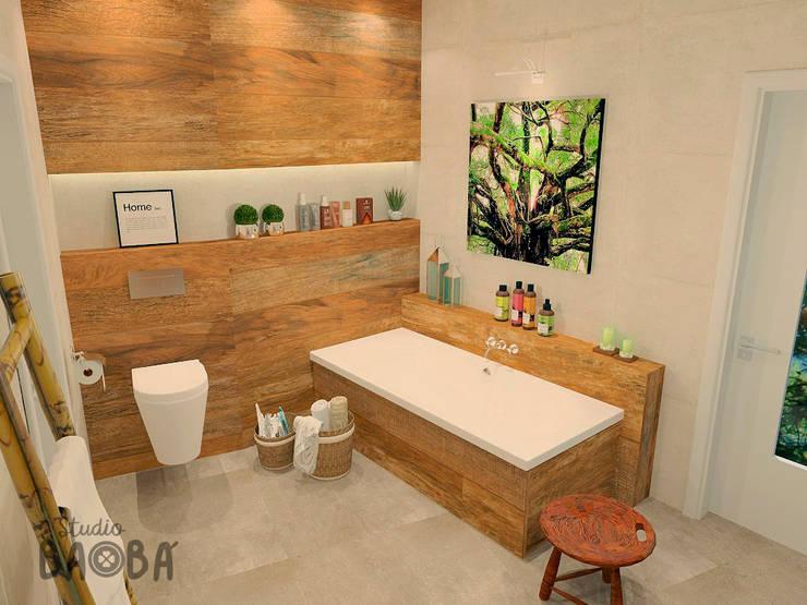 Kamar Mandi oleh Studio Baoba, Klasik