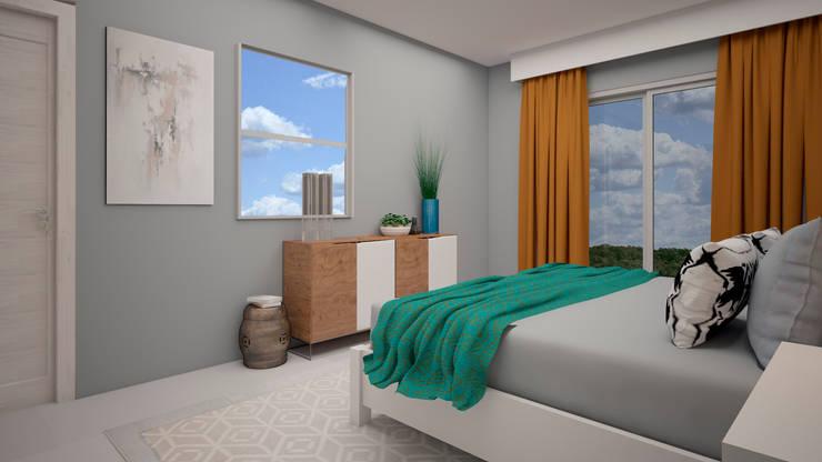 Bedroom by CONTRASTE INTERIOR, Rustic