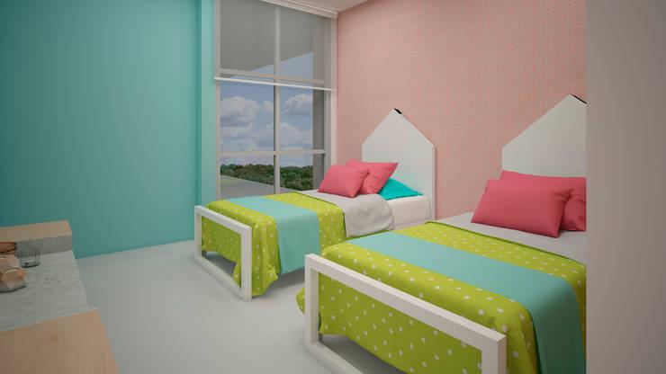 Nursery/kid's room by CONTRASTE INTERIOR, Minimalist