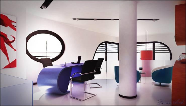 Ferrari: Studio in stile  di Denis Confalonieri - Interiors & Architecture