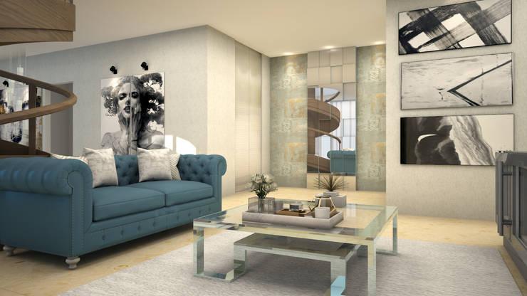 Media room by CONTRASTE INTERIOR, Classic