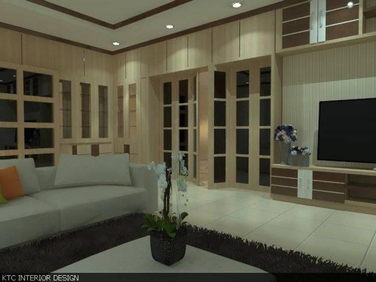 งานบ้านแถวมืองใม่ชลบุรี:   by KTC interior design