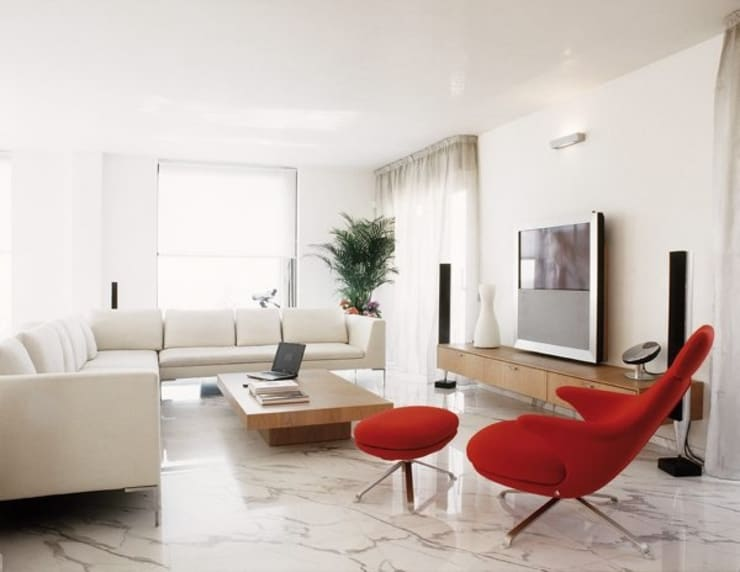 Living room by Cappelletti Architetti