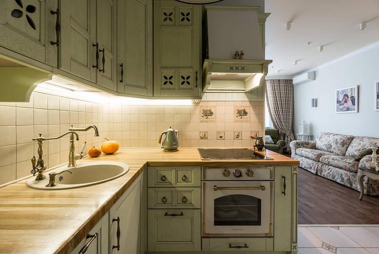 ЖК Лосиный остров: Кухни в . Автор – Flatsdesign