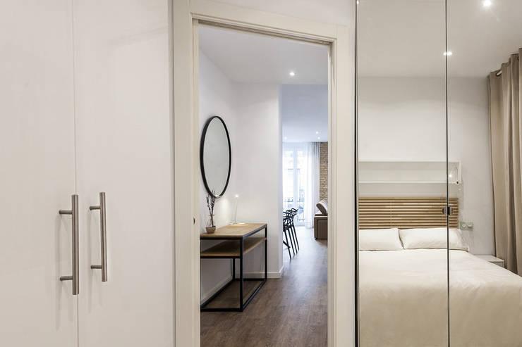غرفة نوم تنفيذ Aguilar Arquitectos