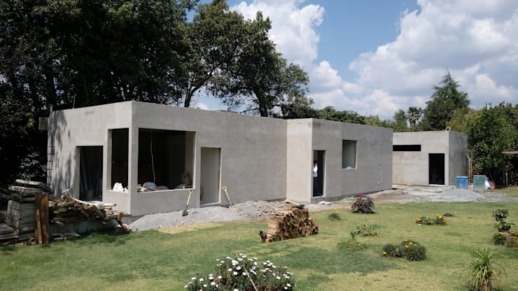 Houses by taller garcia arquitectura integral, Country