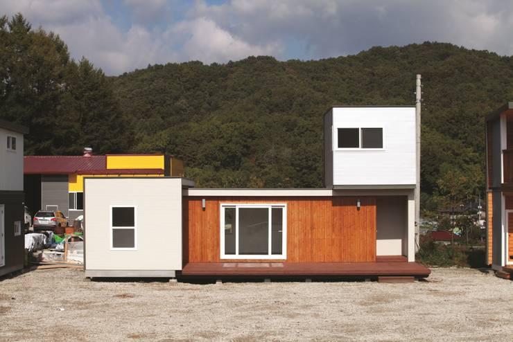 하루만에 뚝딱짓는 모듈러주택 - 스마트하우스: 스마트하우스의