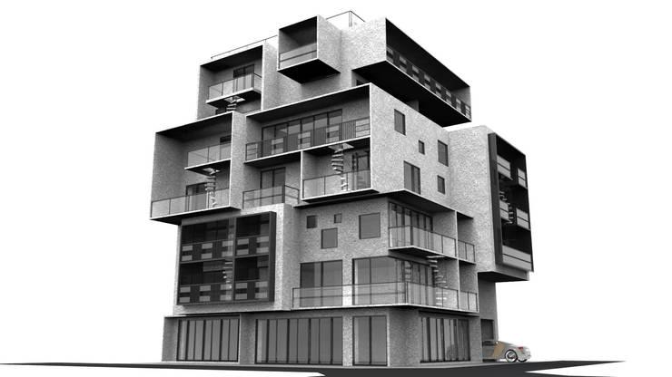 文創住宅:  房子 by Glocal Architecture Office (G.A.O) 吳宗憲建築師事務所/安藤國際室內裝修工程有限公司