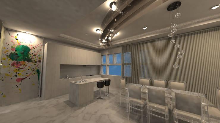 山西大同府:  商業空間 by Glocal Architecture Office (G.A.O) 吳宗憲建築師事務所/安藤國際室內裝修工程有限公司