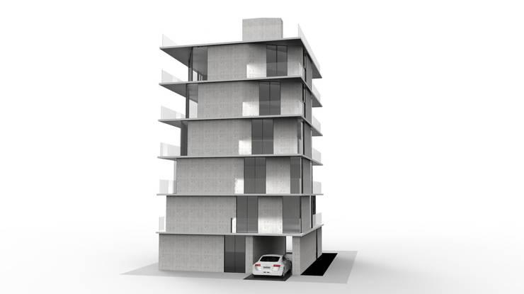 舞者 The Dancer:  房子 by Glocal Architecture Office (G.A.O) 吳宗憲建築師事務所/安藤國際室內裝修工程有限公司